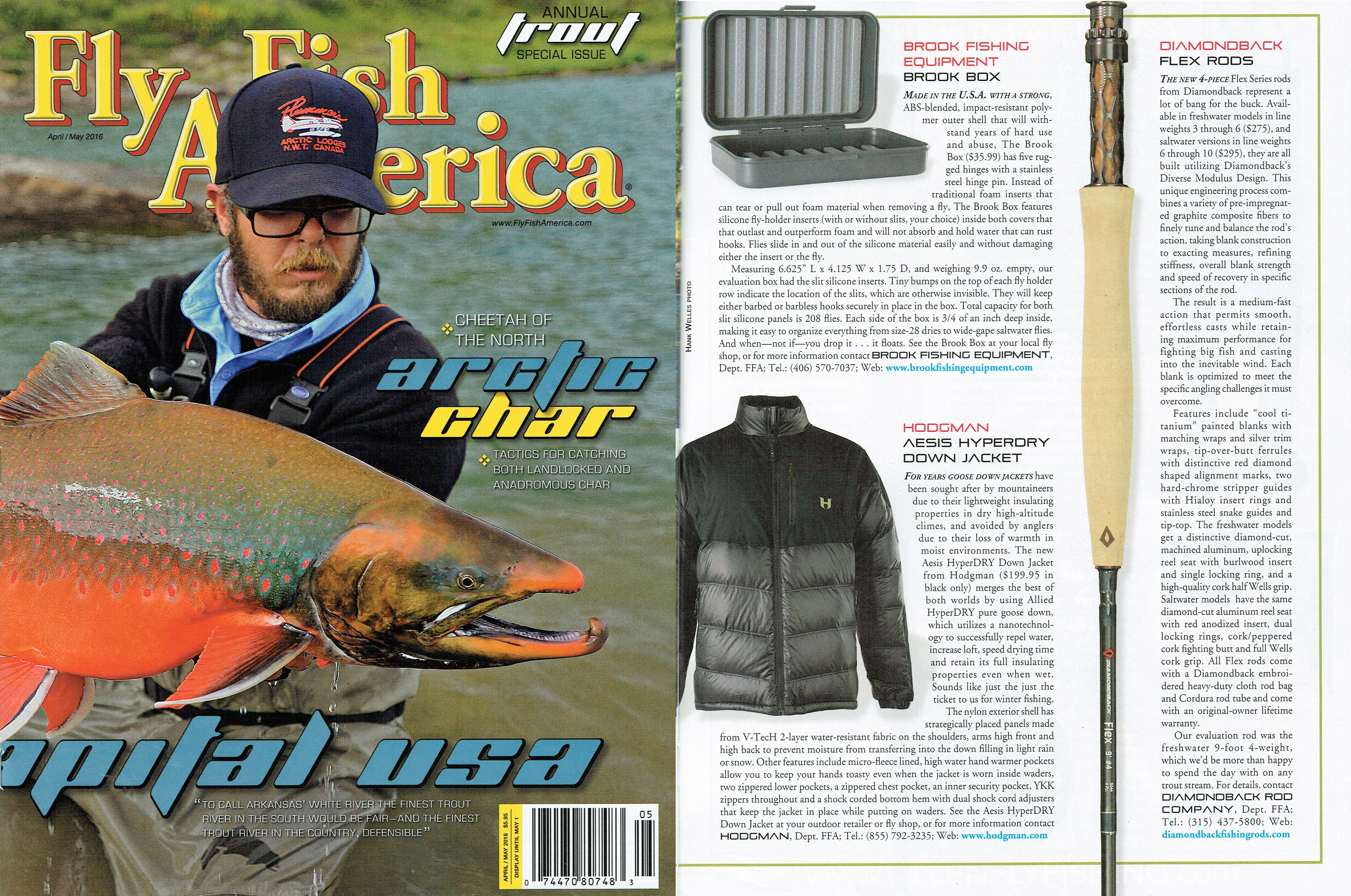 Press brook fishing equipment for Fly fish usa